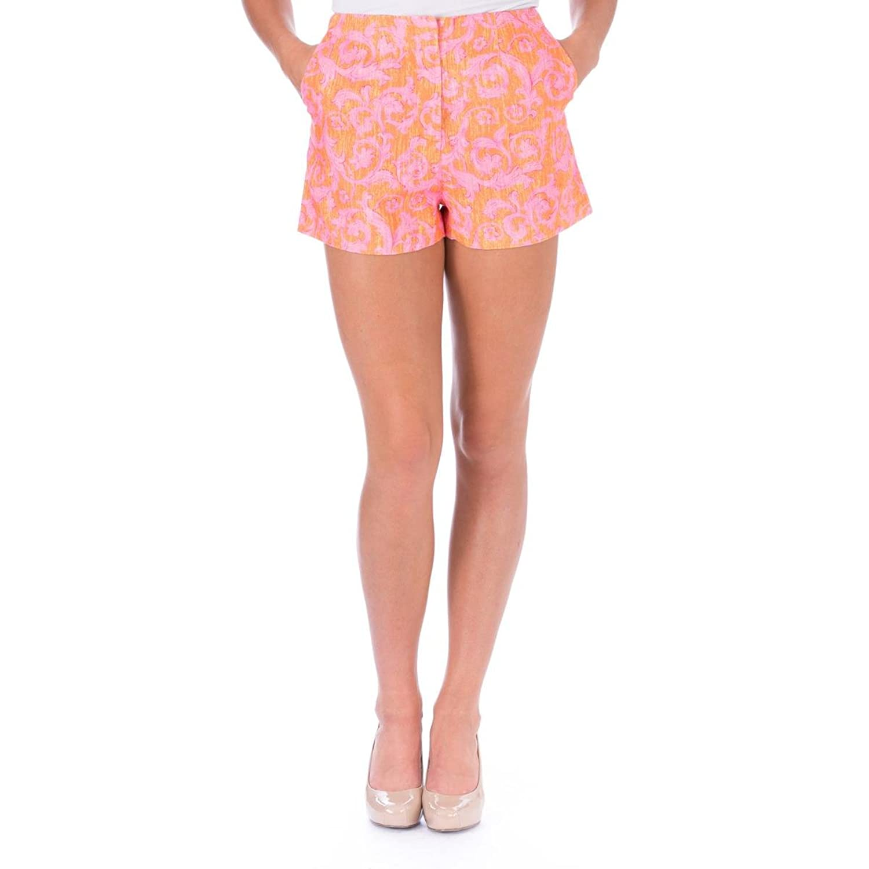 Elizabeth and James Womens Addeline Linen Jacquard Casual Shorts