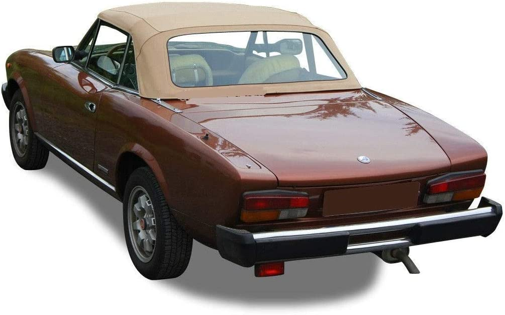 Fiat 124 Spider Sports Tailored Indoor//Outdoor Car Cover 1966 to 1985