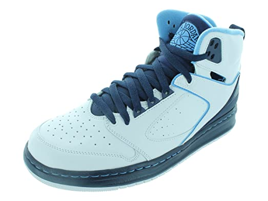 Men's/Women's Nike Jordan Sixty Club Basketball Shoes White/University Blue/Mid Navy 201420152016