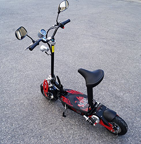 Electric scooter new season 2017! Recommendation of 15 years and above. New generation. SCOOTERS electric stylish, compact and practical. House takes up little space. It is easy to fit in the car. by T-Max Scooter