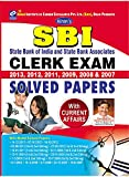 SBI Clerk Exam: Previous Year Solved Papers State Bank of India And State Bank Associates (2013,2012,2011,2009,2008 & 2007)