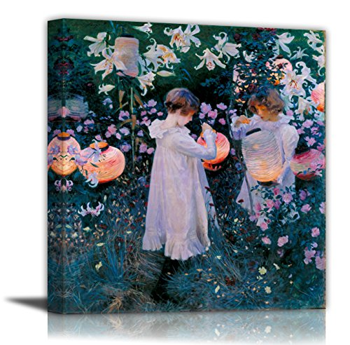 Carnation, Lily, Lily, Rose - John Singer Sargent - Canvas Prints 20