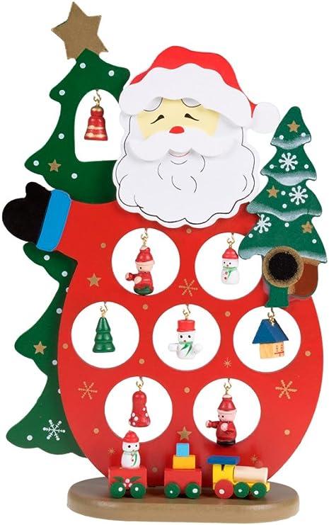 christmas decorations wooden  santa