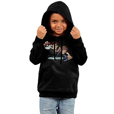 KYY Infant Smosh Unisex Hooded Sweatshirt Black