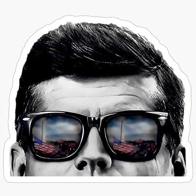Deangelo JFK Pop-Art (Original Design) Stickers (3 Pcs/Pack): Home & Kitchen