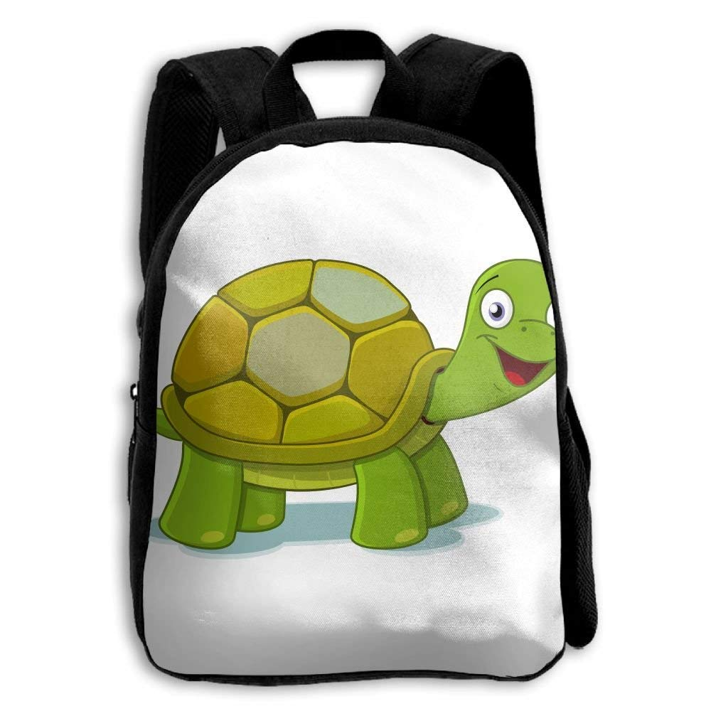 HOJJP Children School Bags Toddler Bookbag Mochila para niños niños niños Junior High School, Funny Turtle 0f063d