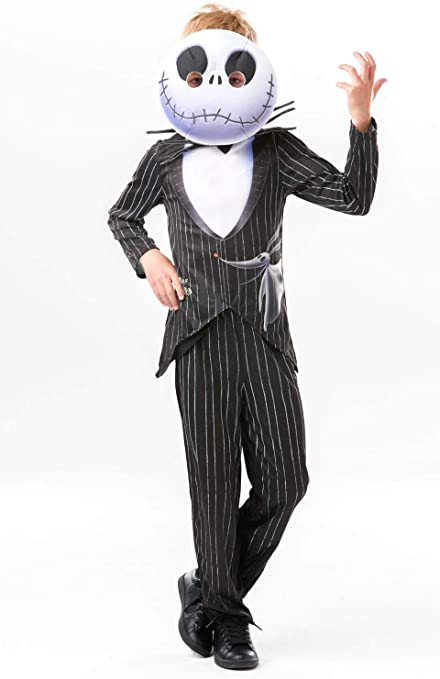 Rubies Jack Skellington Disfraz, Multicolor, large (300430L ...