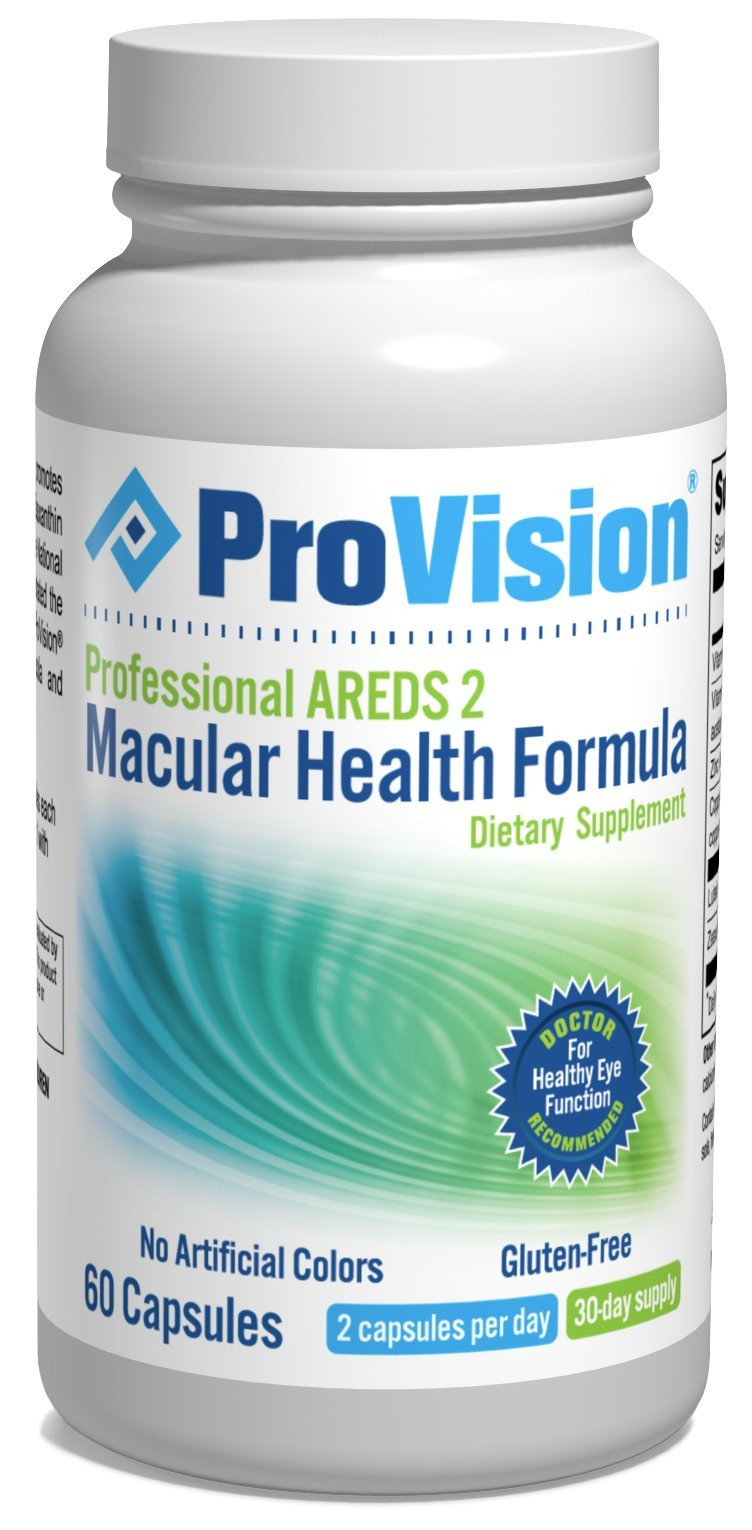 ProVision Professional AREDS 2 Macular Support Formula 60 CAPSULES by ProVision
