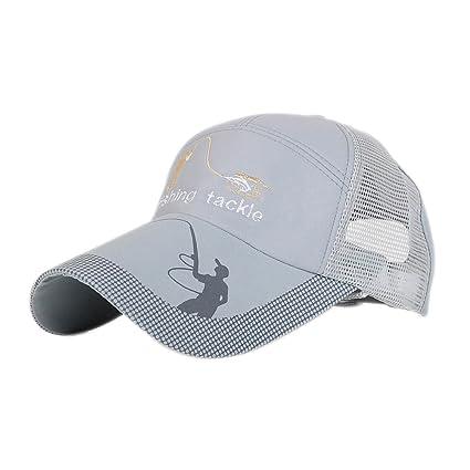 Gorra de Béisbol Ajustable para Deportes al Aire Libre, Correr, Pesca, Ciclismo,
