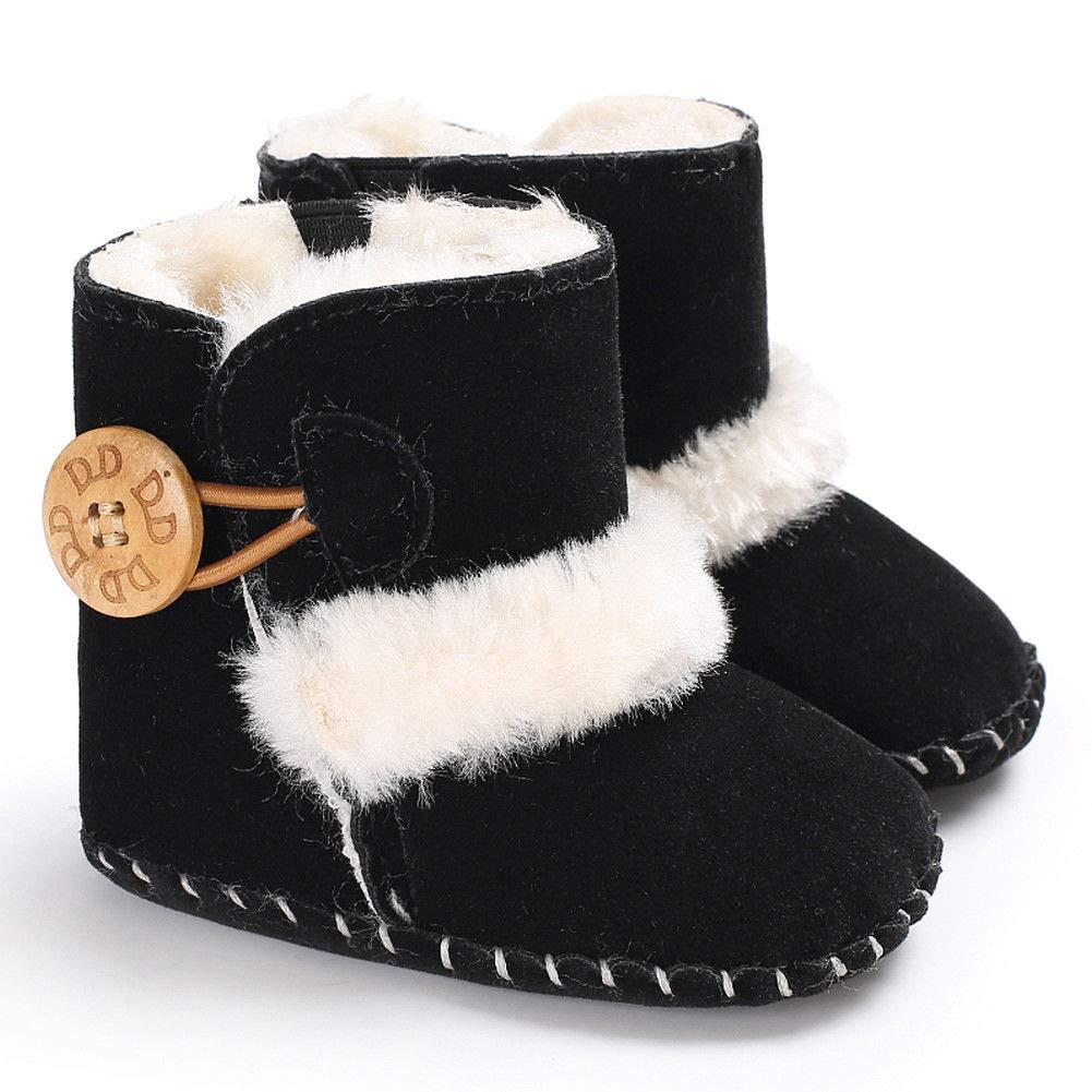 13-18Month Blue Newborn Toddler Fringe Tassel Boots Baby Infant Boy Girl Soft Soled Winter Shoes Haressu