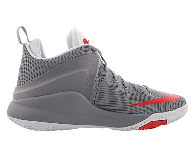 low priced 4f353 66378 Amazon.com   Nike Zoom Witness 852439 005 Cool Grey University Red Size 10    Basketball