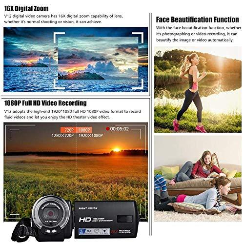 ZAQXSW Mini Digital Camera, HD Digital Camera Kids Childrens Point and Shoot Rechargeable Digital CamerasSports,Travel,Holiday,Birthday Present by ZAQXSW (Image #1)
