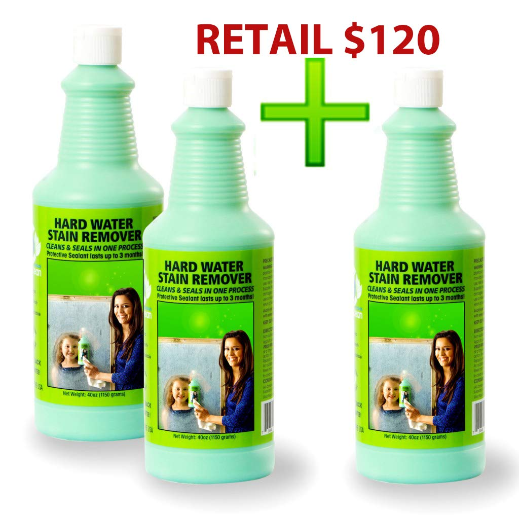 Amazon Bio Clean Hard Water Stain Remover Buy 2 Cleaners