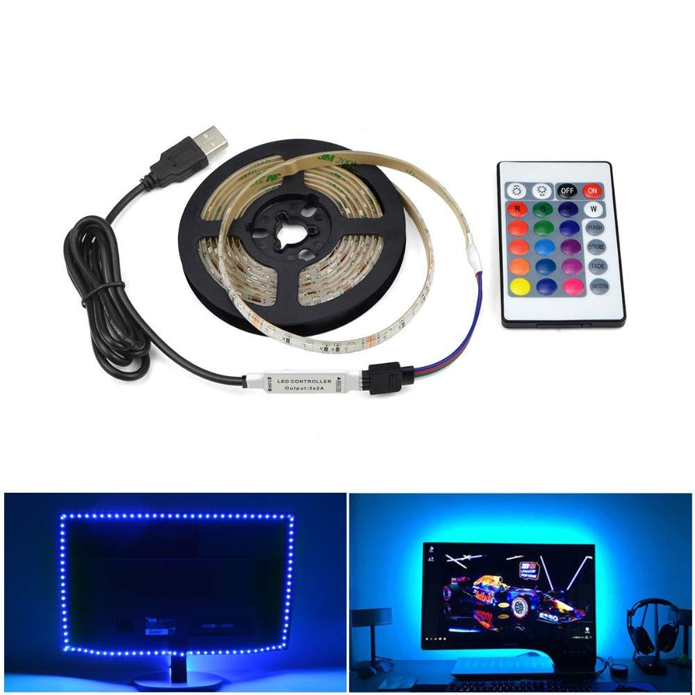 USB Power RGB Light for Kitchen Under Cabinet Light DC 5V LED Lamp 2835SMD PC Screen Backlight Wardrobe Lights Home Decoration