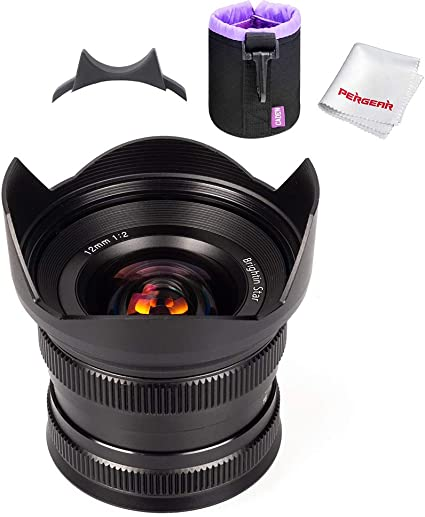 Brightin Star 12mm F2 Ultra Weitwinkelobjektiv Für Sony Kamera
