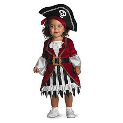 Disguise Infant Costume Pirate Princess, 12-18 Months: Clothing