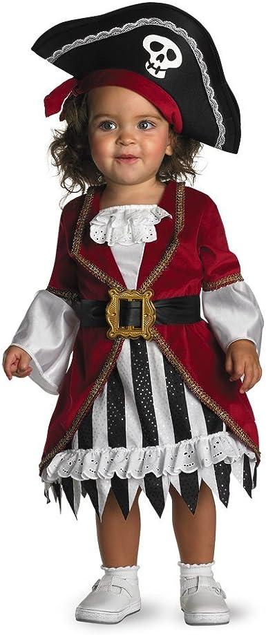 New Little Girls Pirate Costume