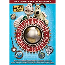 Wallace & Gromit's World Of Invention [DVD] (2012)