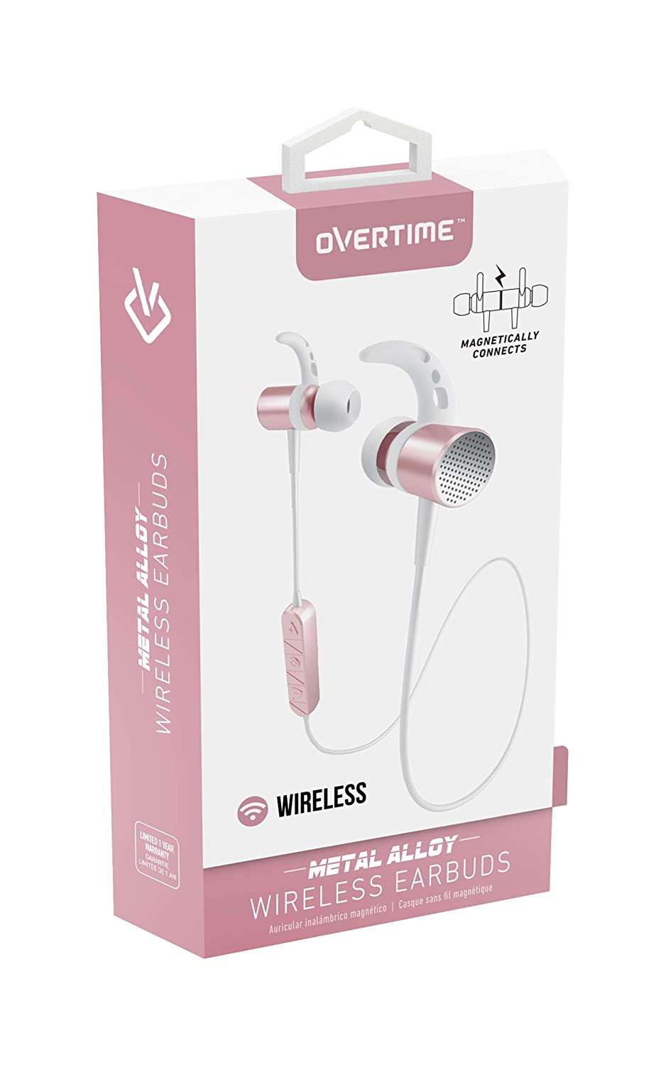 Amazon.com: Wireless Bluetooth Stereo Earbuds Noise Isolating Magnetic Headphones With Mic: Cell Phones & Accessories