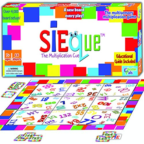 SiEqueTM Cool Math Games for Kids & Adults