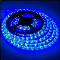 Waterproof Led Strip Lights SMD 3528 16.4 Ft (5M) 300leds 60leds/m White Flexible Tape Lighting Tape Lights for Boats…