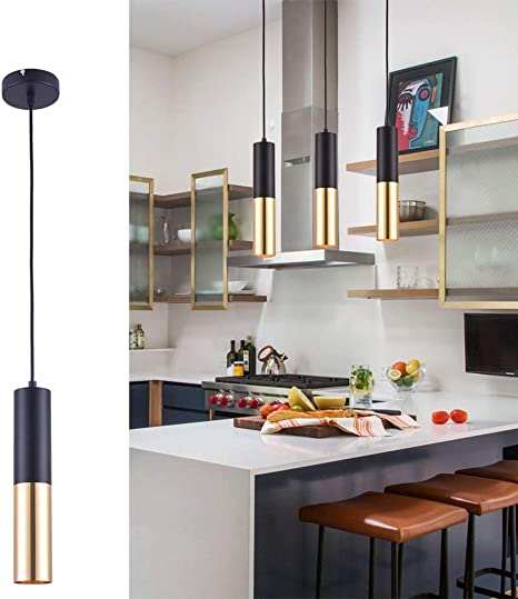 Amazon.com: Kitchen Island Pendant Light E12 Base , Mini Modern Pendant Lamp, Industrial Adjustable Height Hang Lamp For Dinning, Bar, Coffee, Shop, Farmhouse(Bulb Not Included): Home Improvement