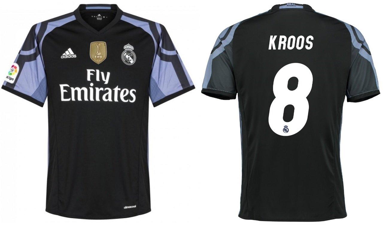 Trikot Kinder Real Madrid 2016-2017 Third WC - Kroos 8