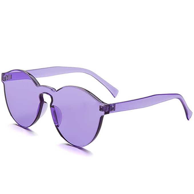 269ae0e2b74 Dollger Rimless Sunglasses New Designer Sunglasses Mirror Cat Eye  Sunglasses Fashion Candy Color Eyewear  Amazon.co.uk  Clothing
