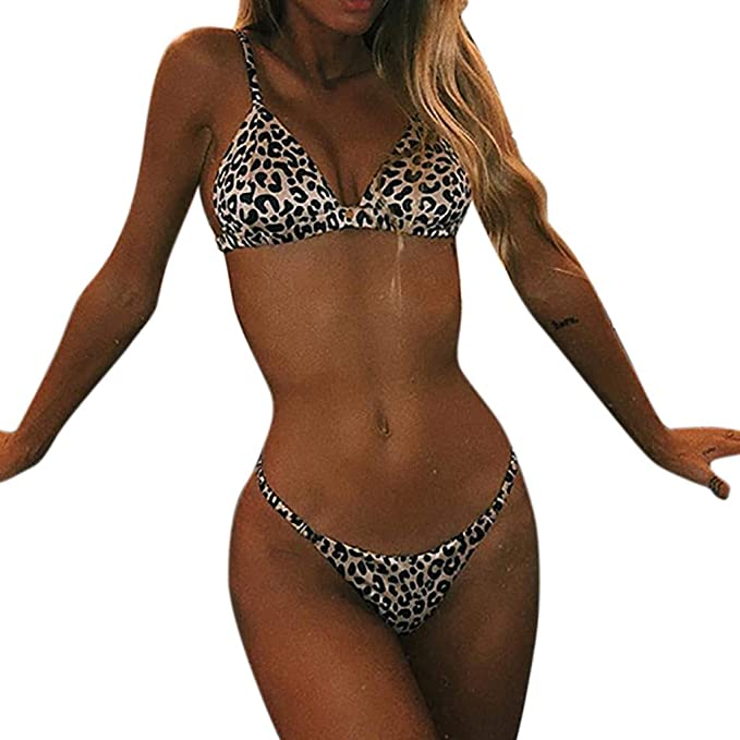 1a4d7c3c8f18 waitFOR Costumi Donna Mare Due Pezzi Vita Alta Push Up Sexy 2019,Costume  Donna Due
