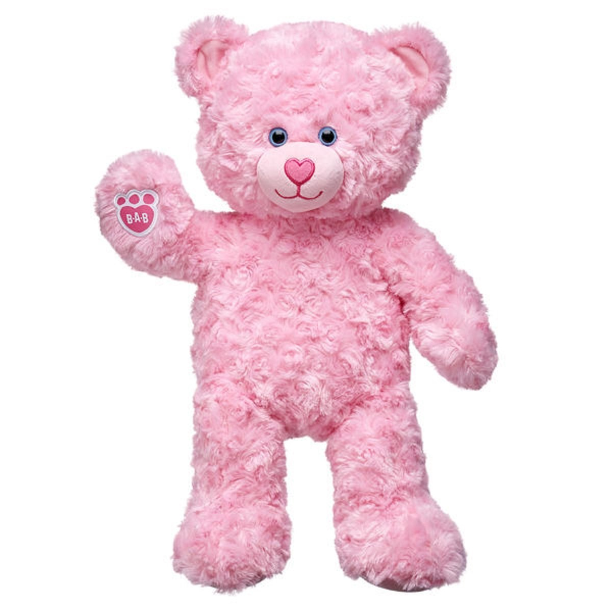 300409cdd73 Amazon.com  Build-a-Bear Workshop 16 in. Pink Cuddles Teddy Bear  Toys    Games