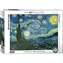 Eurographics Starry Night by Vincent Van Gogh 1000-Piece Puzzle