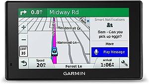Garmin DriveSmart 51 NA LMT-S with Lifetime Maps/Traffic, Live Parking, Bluetooth,WiFi, Smart Notifications, Voice Activation, Driver Alerts, TripAdvisor, Foursquare (Renewed)