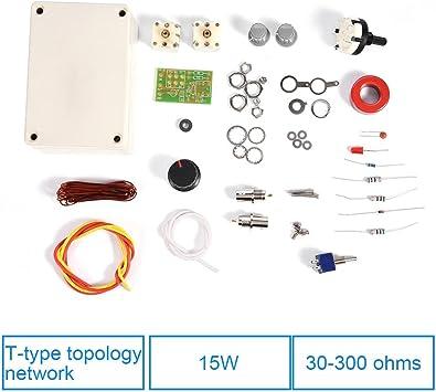HF Transceiver Kit Manual de Sintonizador de Antena Sintonizador DIY Precision Kit 1-30 MHz para Ham Radio QRP DIY Kit