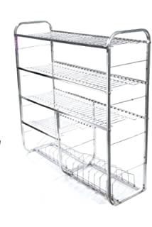 Alpha Kitchen Product Presents Stainless Steel Kitchen Rack (30X24)
