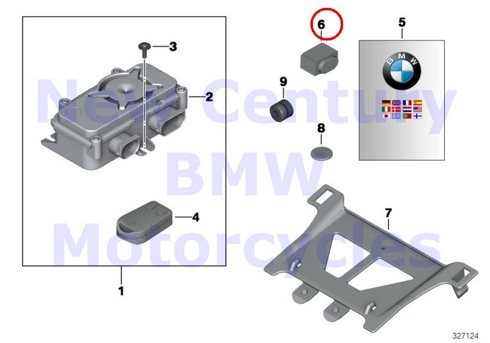 BMW Genuine Motorcycle Resistor 120 OHM C600 Sport C650GT R nine T R1200GS R1200GS Adventure HP2 Enduro R1200RT R900RT R1200R R1200ST R1200S K1200S K1300S HP4 K1200R K1200R Sport K1300R K1200GT K1300G
