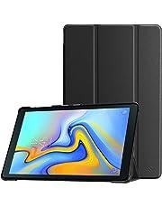 Fintie Hülle für Samsung Galaxy Tab A 10.5 2018 - Ultra Schlank Superleicht Schutzhülle Cover Case mit Auto Schlaf/Wach Funktion für Galaxy Tab A SM-T590/T595 10.5 Zoll Tablet-PC, Schwarz