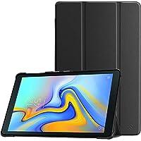 Fintie Samsung Galaxy Tab A 10.5 2018 Hülle - Ultra Schlank Superleicht Schutzhülle Cover Case mit Auto Schlaf/Wach Funktion für Samsung SM-T590/T595 Galaxy Tab A 10.5 Zoll Tablet-PC, Schwarz