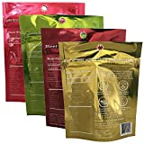 Organic Snack - Seva Foods - Space Ice Kream & Coconut Jerky Sampler (4 pack) - Dairy-Free - Soy-Free - Plant-Based - Gluten-Free - Electrolytes - Superfood - Travel Snack - No Added Oils