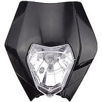 GOOFIT Faro Moto Delantero, Universal 12V 35W Headlight