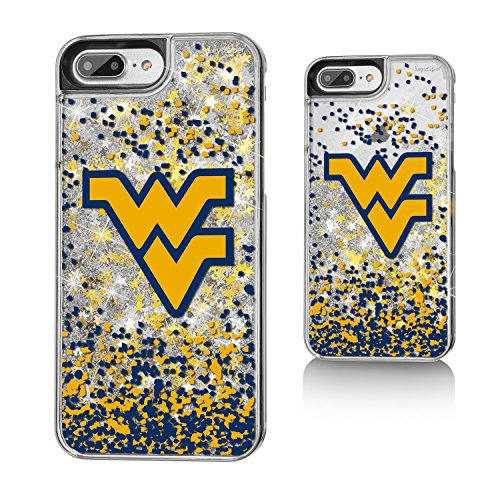 West Virginia Mountaineers Gold Glitter iPhone 7+ Case NCAA (Stores In West Virginia)