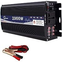 XBNBQ Inversor de Onda sinusoidal Pura de 3000W DC 12V / 24V a AC 220V Inversor de Corriente Inversores de Corriente…