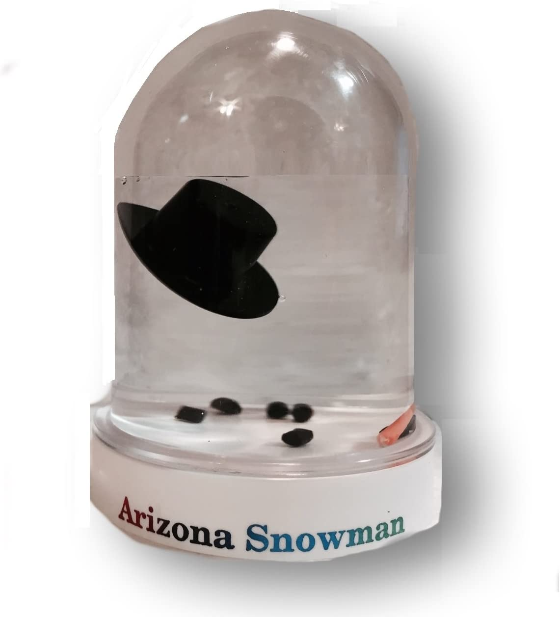 Snowglobe Original Melted Snowman Snow Globe Travel Souvenir Gift (Arizona)