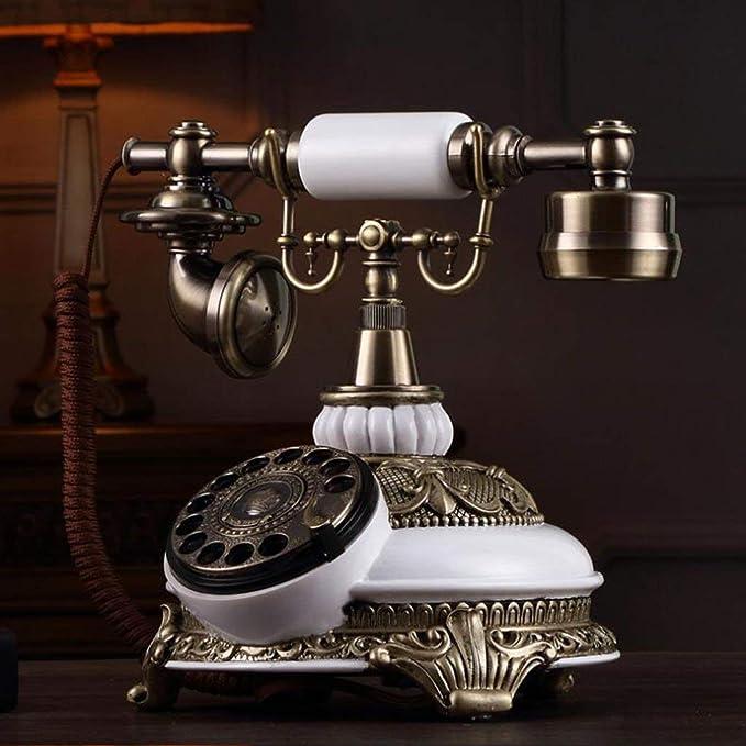 ZXL Teléfono, Tocadiscos Retro Antiguo Teléfono Jardín ...