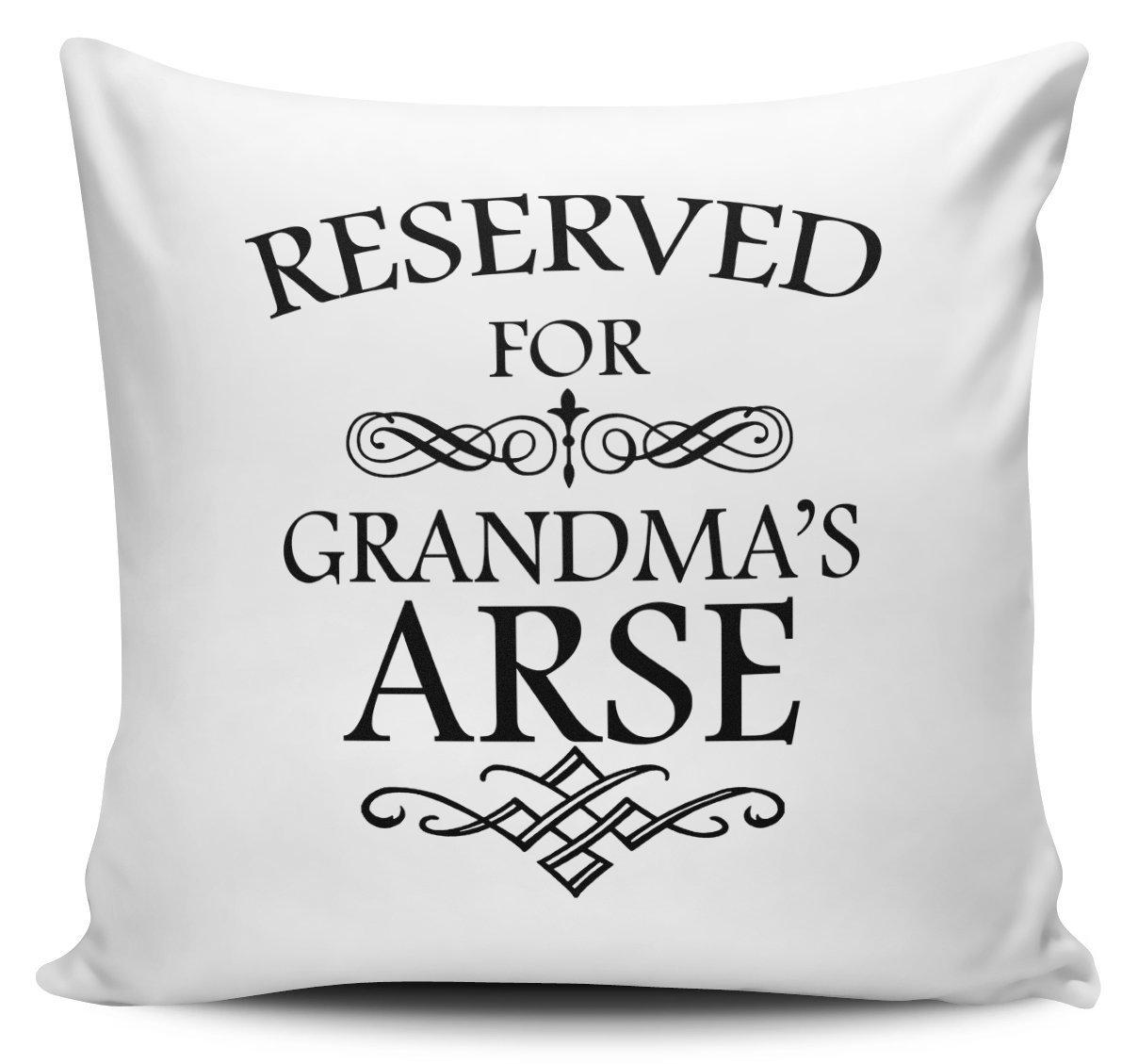 Reservado para la abuela el culo divertido novedad regalo ...