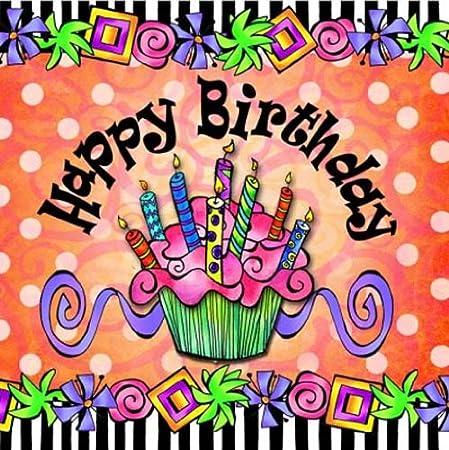 Suzy Toronto servilletas de cóctel, Feliz cumpleaños, 20-Pack: Amazon.es: Hogar