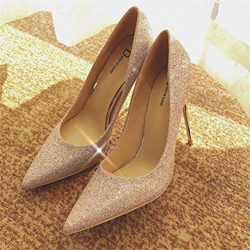 Zapatos Boda de de Boda Puntiagudos Boda la Zapatos Novia de Tac Xue Corte de Qiqi de Zapatos Zapatos de Zapatos Femenina Zapatos XqwET4