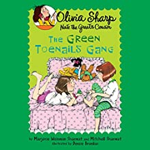 The Green Toenails Gang Audiobook by Mitchell Sharmat, Marjorie Weinman Sharmat Narrated by Emily Eiden