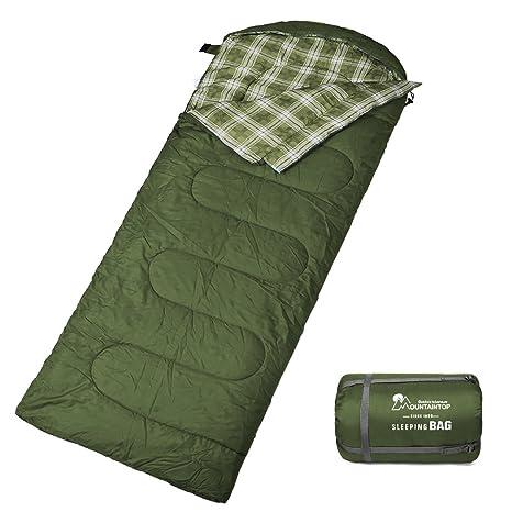 MOUNTAINTOP Mountain Top Saco de Dormir, Ultraligera con kleinstem Pack métrica Viaje Saco de Dormir