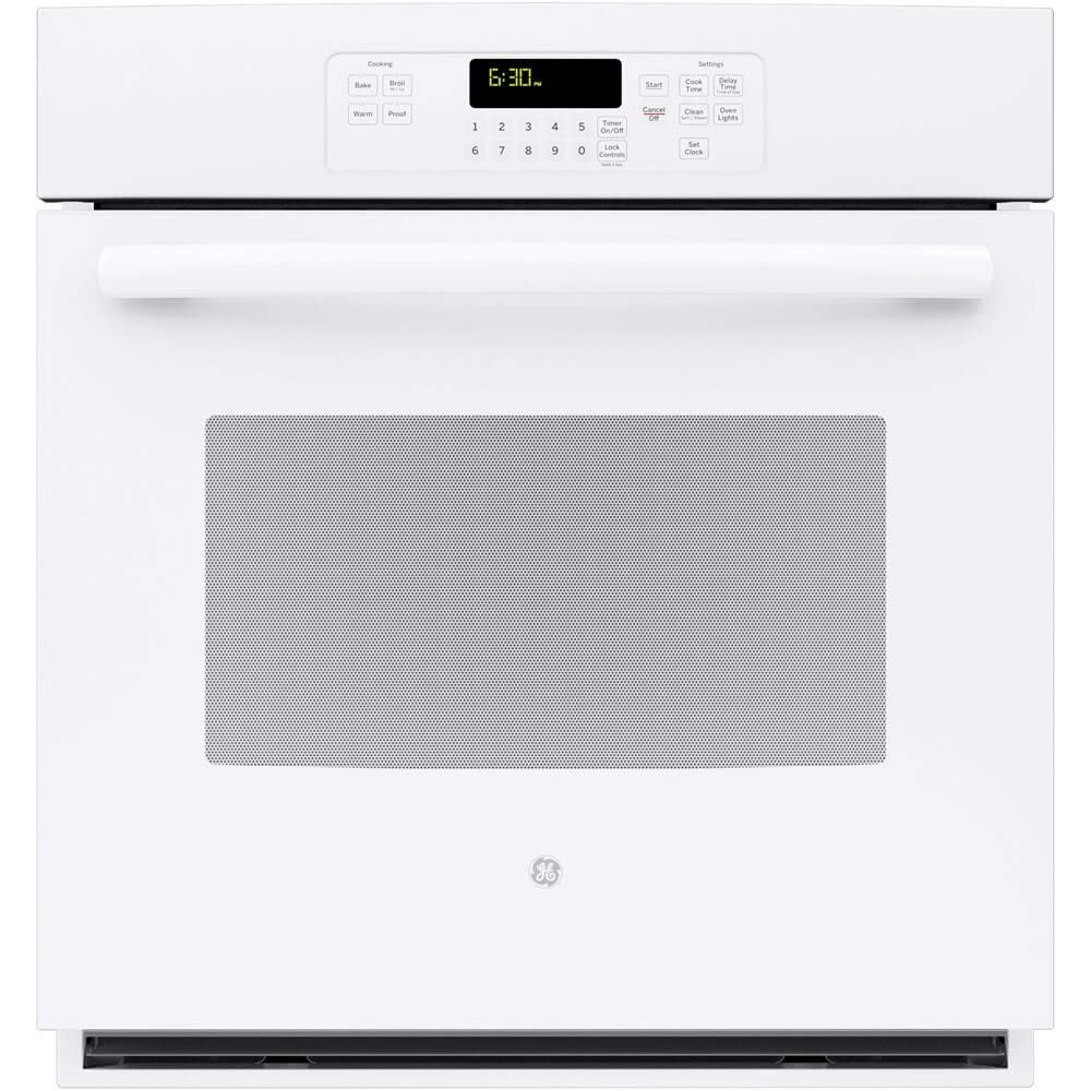 "GE JK3000DFWW 27"" White Electric Single Wall Oven (Certified Refurbished)"