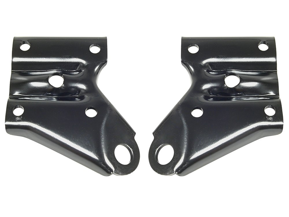 New 1967-70 Ford Mustang, 1966-70 Falcon Rear Shock Mounting Plates Left Right Pair (EBC6DZ-5796PR) Auto Krafters